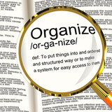 Organize definition