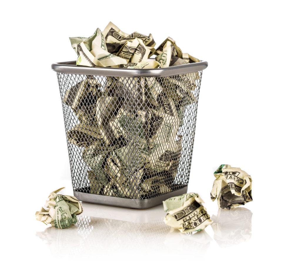 Cash in the Trash
