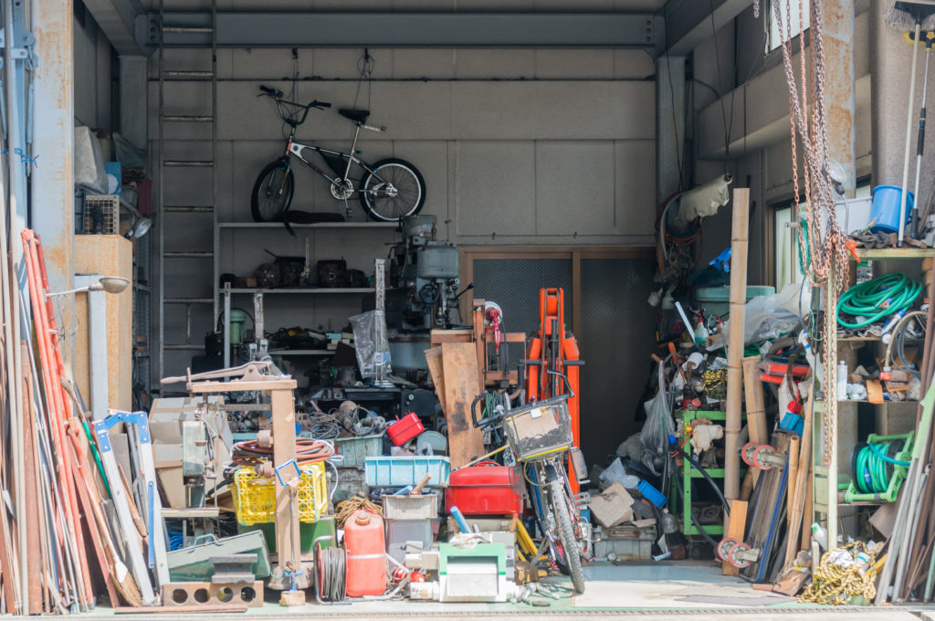 What's more valuable - the clutter or the space?