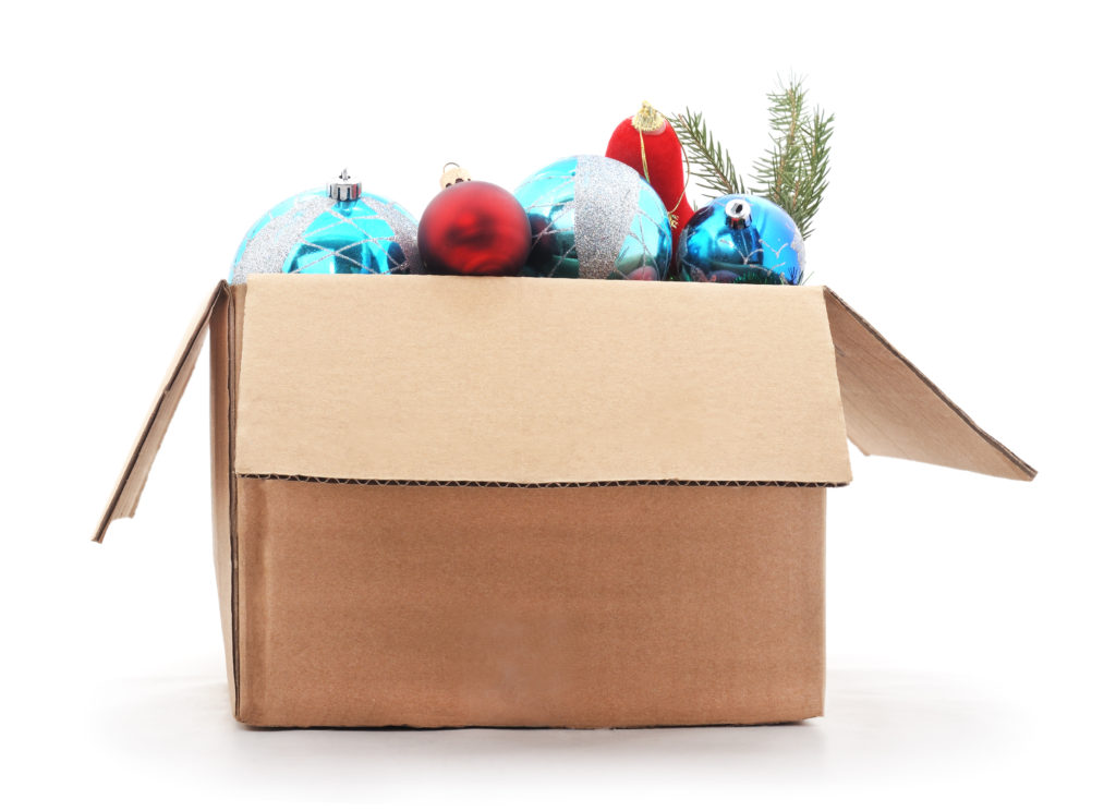 Don't let boxes of Christmas cheer overwhelm you.
